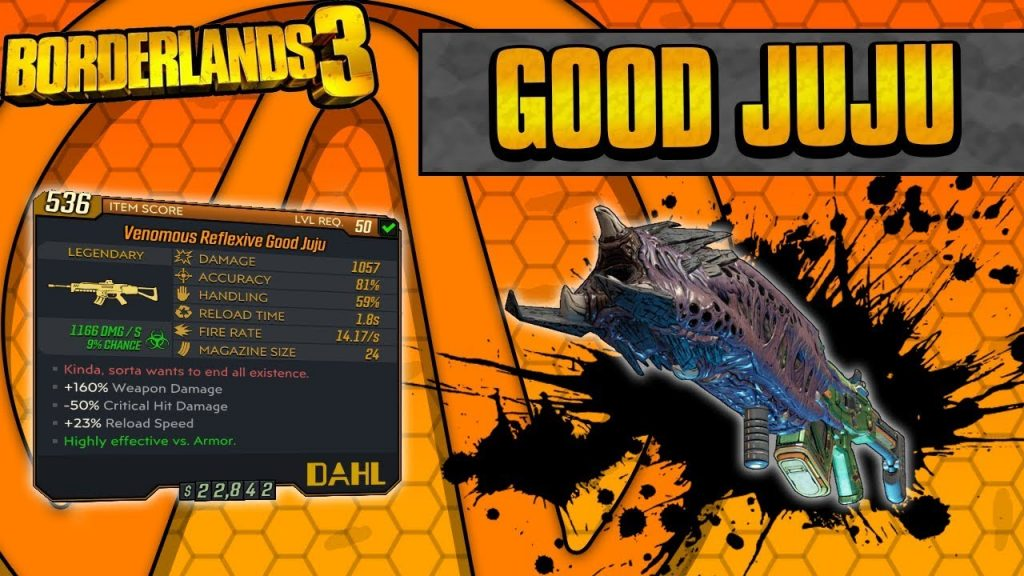 Borderlands 3 Good Juju
