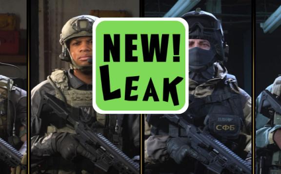 call of duty modern warfare new leak title