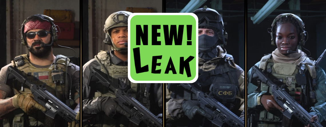 Diese 13 neuen Charaktere könnt ihr wohl bald bei CoD Modern Warfare spielen