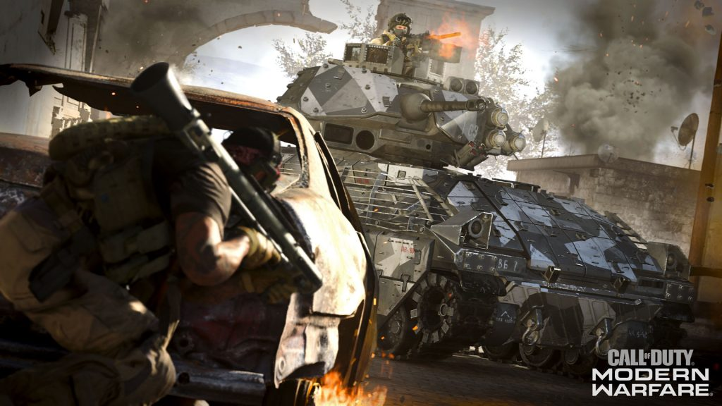call of duty modern warfare soldaten panzer