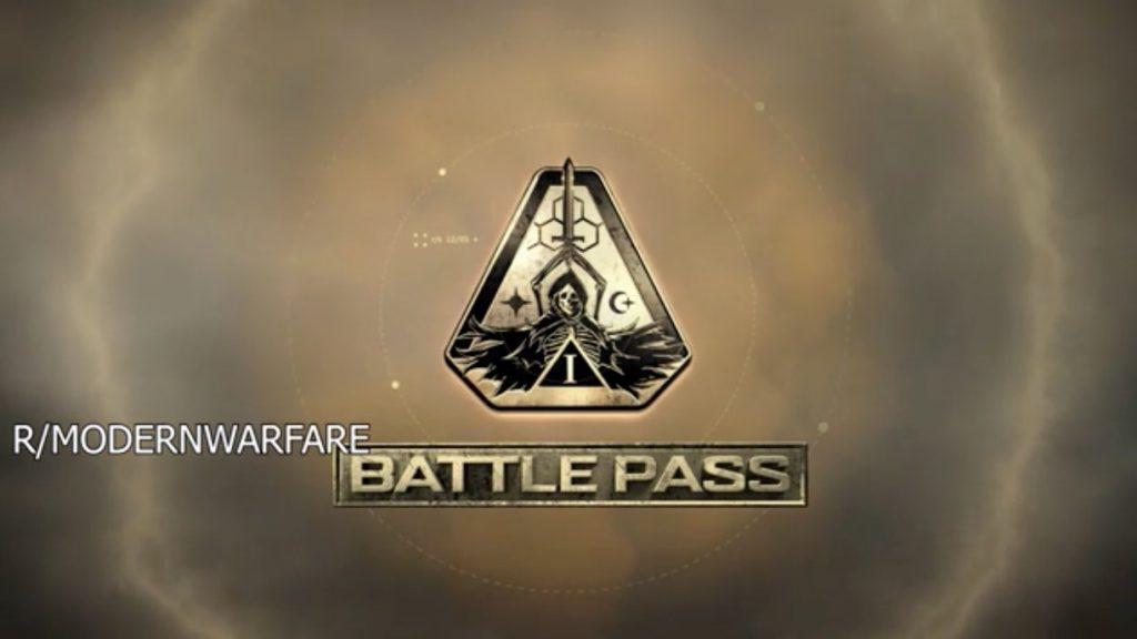 CoD Modern Warfare Battle Pass S1 Logo