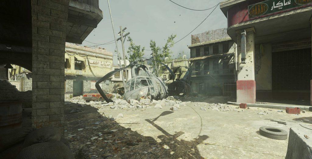 CoD Modern Warfare 1 - Crash