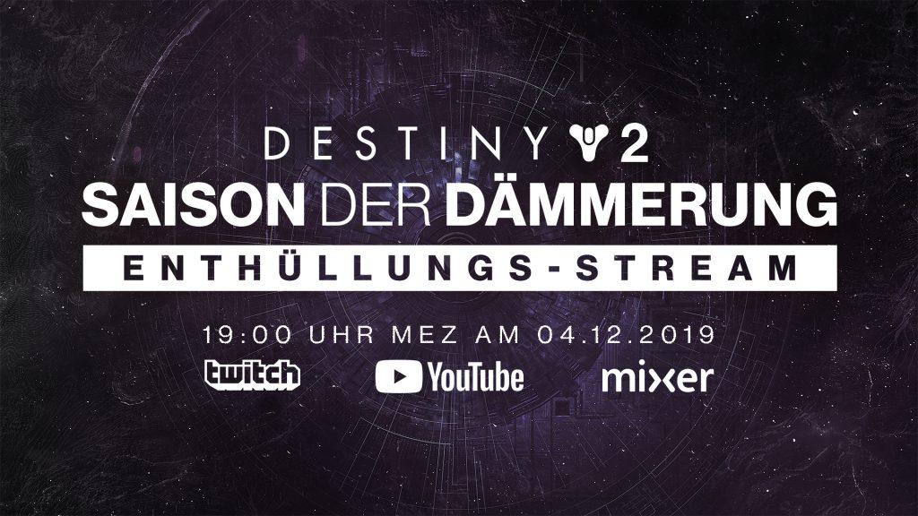 Destiny 2 season 9 Ankündigung