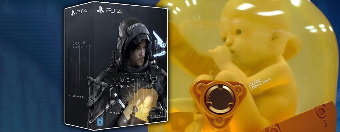 Death Stranding für PS4 kaufen – Collector's Edition erneut verfügbar