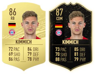 Vergleich zwischen Kimmich-Gold und -Inform.
