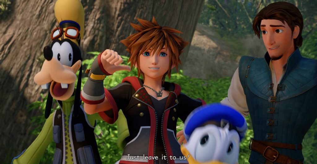 Kingdom Hearts 3 helden