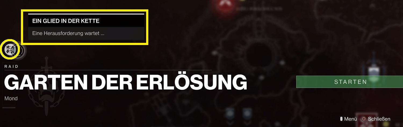 """Destiny 2: Raid-Herausforderung """"Ein Glied in der Kette"""" - 2. Challenge"""