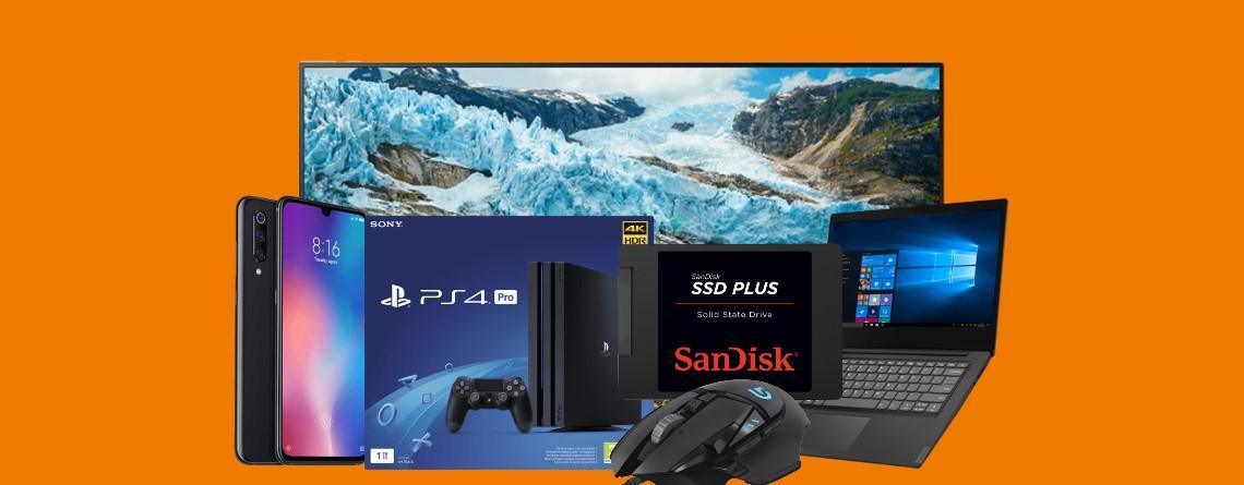 Hardware, Smartphones, UHD-TVs und mehr bei Saturn stark reduziert