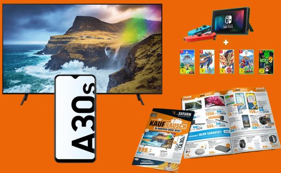 Saturn Prospekt Angebote: Samsung 4K TV zum Black Friday