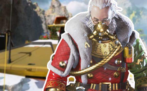 Apex Legend Weihnachts Event Claustic Skin Titel
