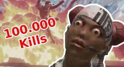 1. Spieler erreicht in Apex Legends 100.000 Kills – Spielte zu 90% eine Heldin