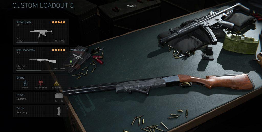 Call fo Duty Modern Warfare Allrounder MP5 Build