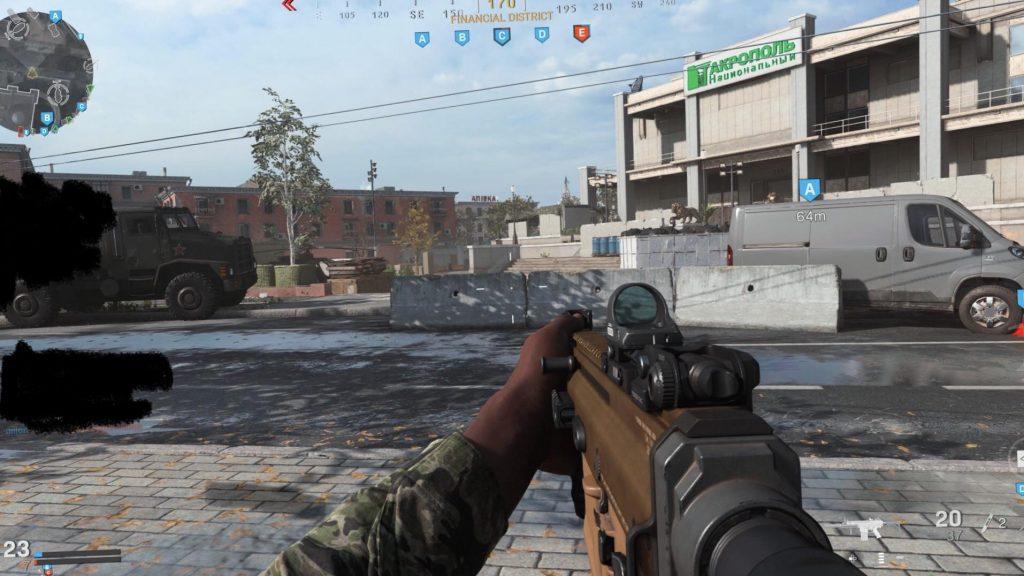 Call fo Duty Modern Warfare Jack Frosty