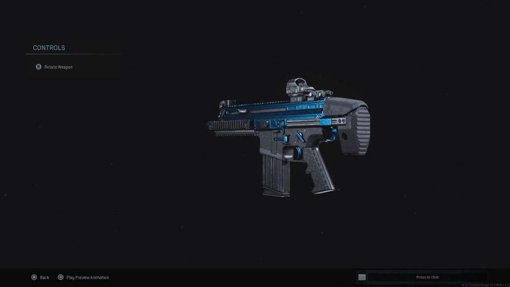 Call fo Duty Modern Warfare Jack Frosty skin