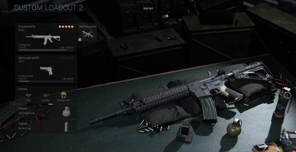 Call fo Duty Modern Warfare M4A1 Allrounder klasse