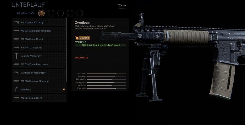 Call fo Duty Modern Warfare Zweibein