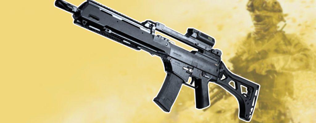 Call of Duty Modern Warfare G36 Titel