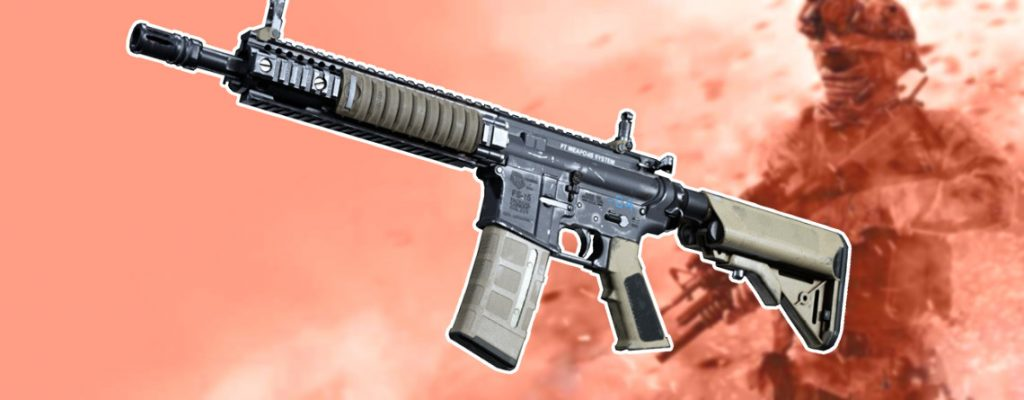 Call of Duty Modern Warfare M4A1 aufsätze setups guide titel