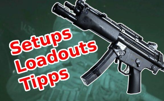 Call of Duty Modern Warfare MP5 Guide Aufsätze Setups Titel