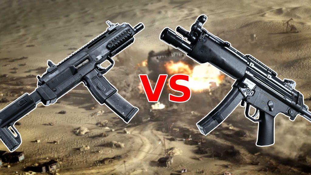 Call of Duty Modern Warfare MP5 vs MP7