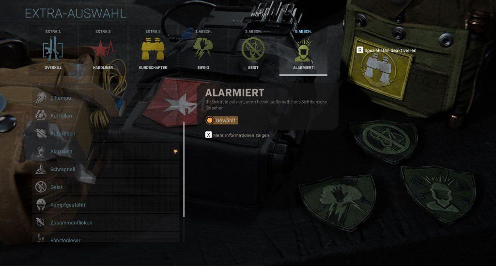Call of Duty Modern Warfare spezialist sniper