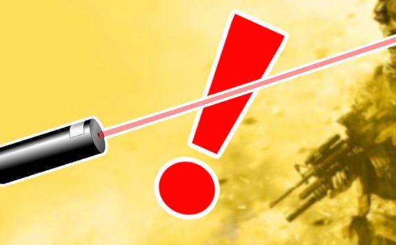 CoD Modern Warfare Laser Kaputt Titel