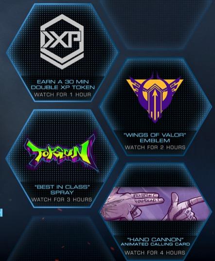 CoD Twitch Drop Belohnungen