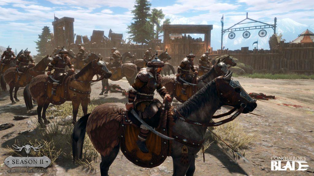 Screenshot Söhne der Steppe Conqueror's Blade