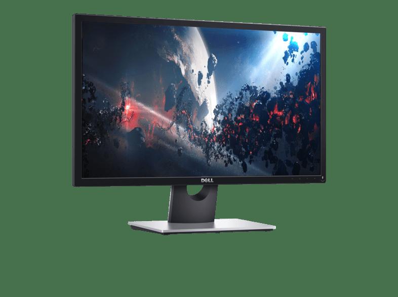 DELL SE2417HGX Full HD-Monitor mit 75 Hz Bildwiederholfrequenz (Frontansicht)