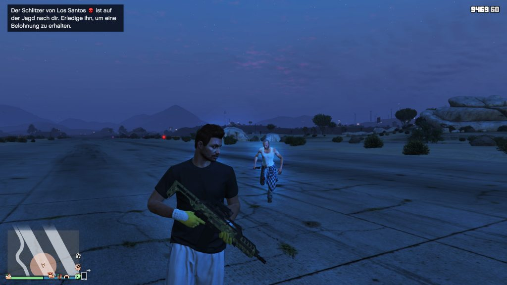 GTA Online der Schlitzer Mörder