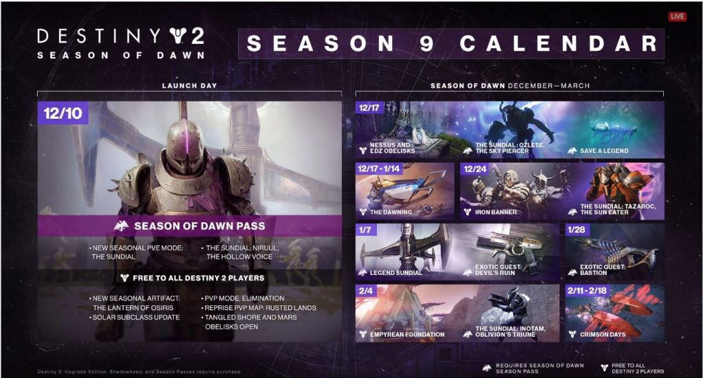 Destiny-2-Kalender season 9