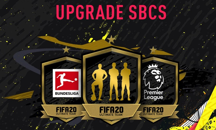 FIFA 20 Upgrade SBC