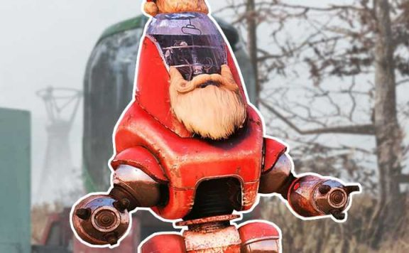 Fallout 76 Santatron Titel Highlight