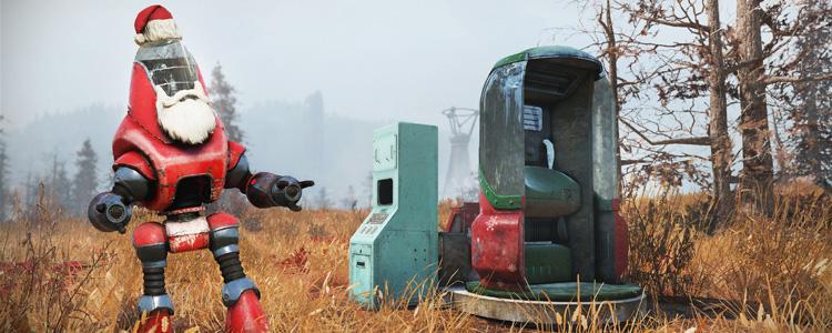 Fallout 76 Santatron
