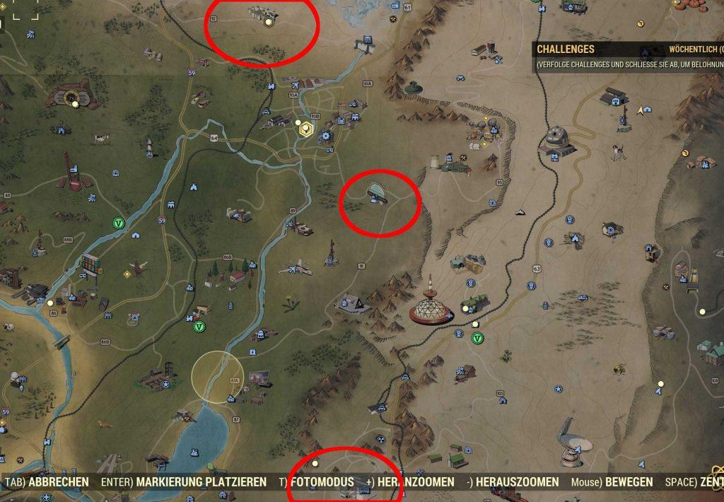 Fallout 76 Stahl farm orte