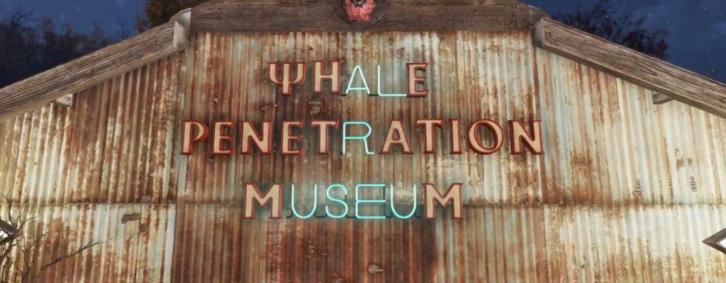 Fallout 76 WHale Penetration Museum Titel