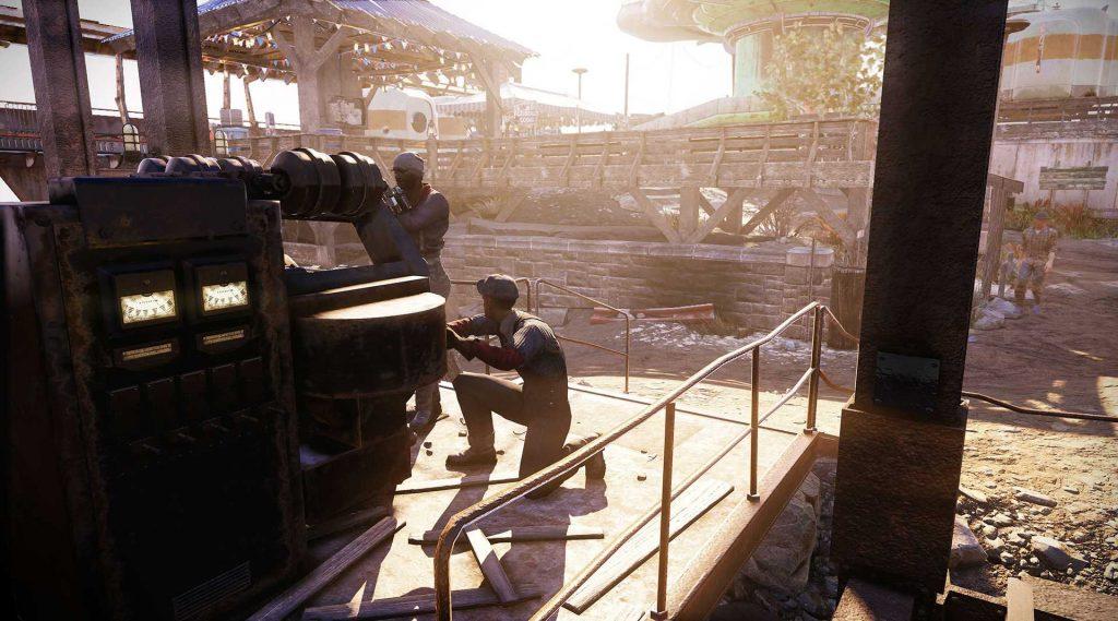 Fallout 76 Wastelanders Screenshot arbeiter