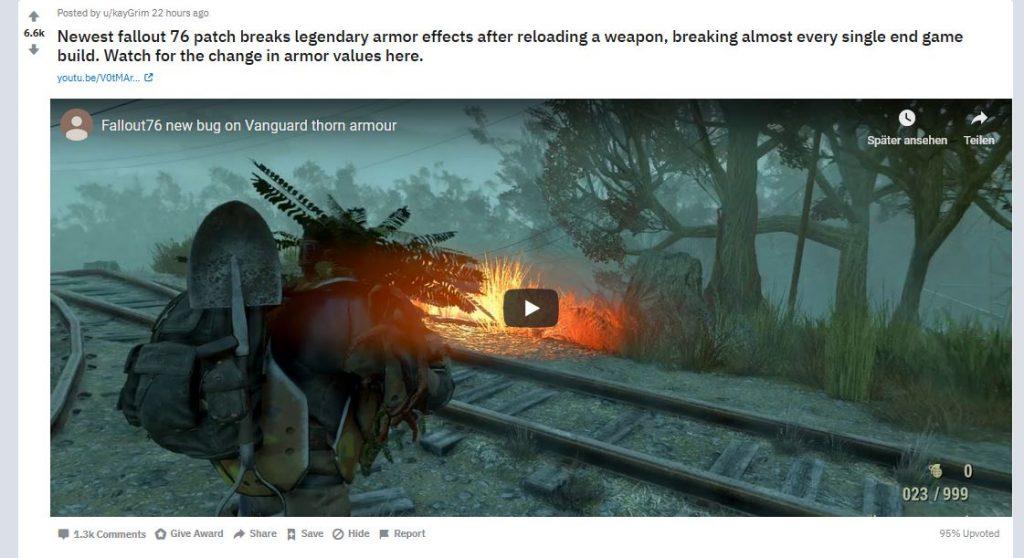 Fallout 76 reddit video
