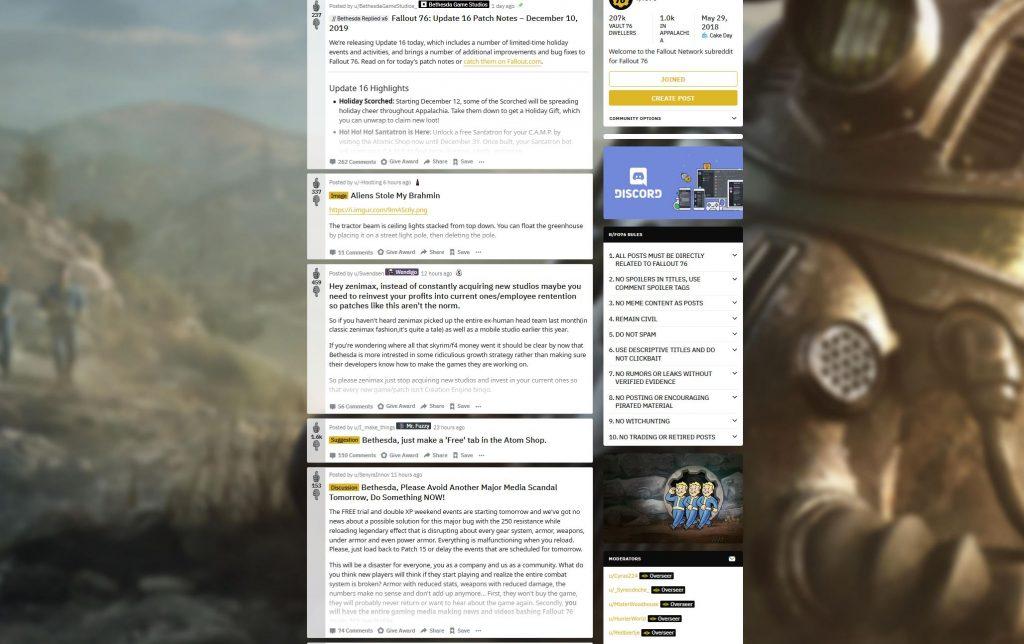 Fallout 76 subreddit shop