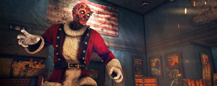 Fallout 76 weihnachtsmann verbrannter