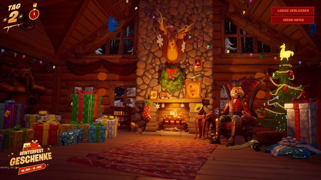 Fortnite Lodge Geschenke Übersicht