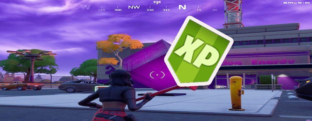 Fortnite XP-Drop Titel