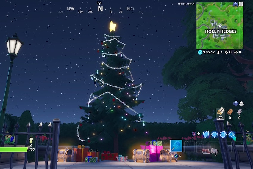 Fortnite-weihnachtsbaum