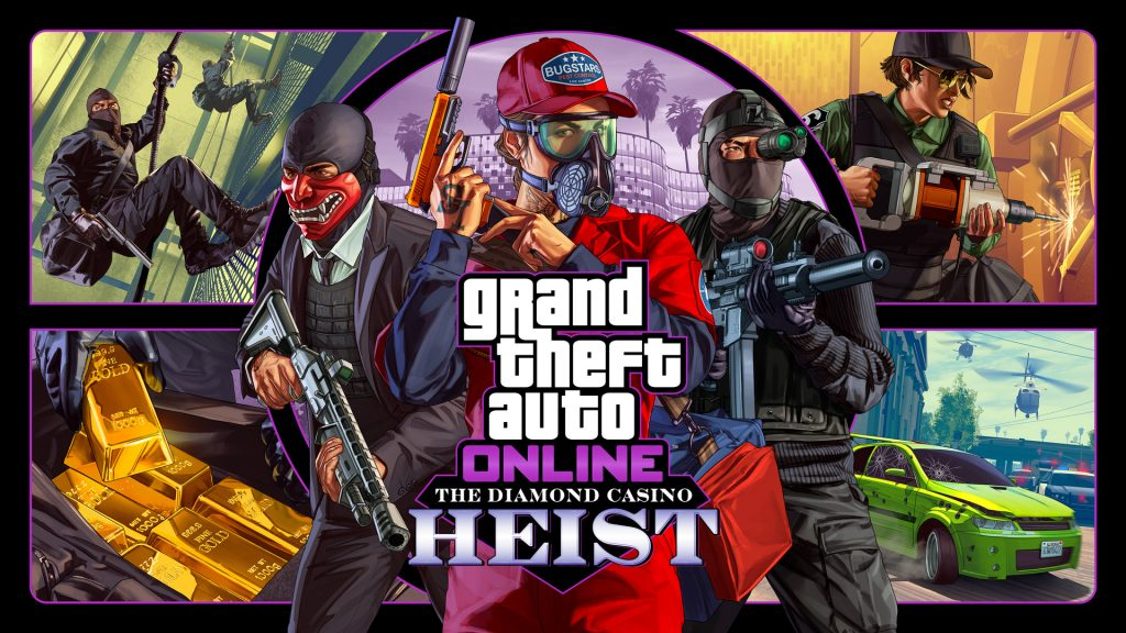 GTA Casino Heist Offiziell