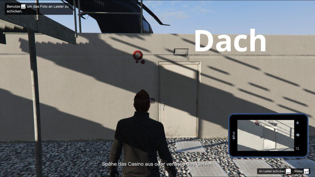 GTA Online Casino Ausspähen Dach