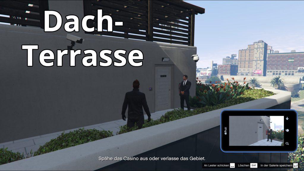 GTA Online Casino Ausspähen Dachterrasse1