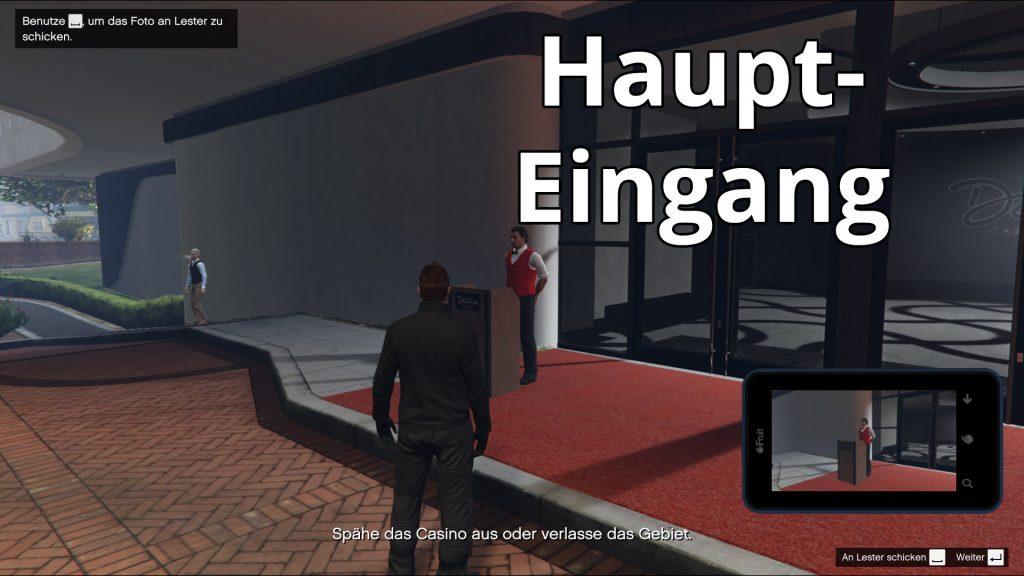 GTA Online Casino Ausspähen Hautpeingang