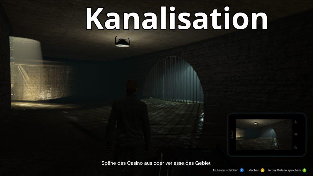 GTA Online Casino Ausspähen Kanalisation2