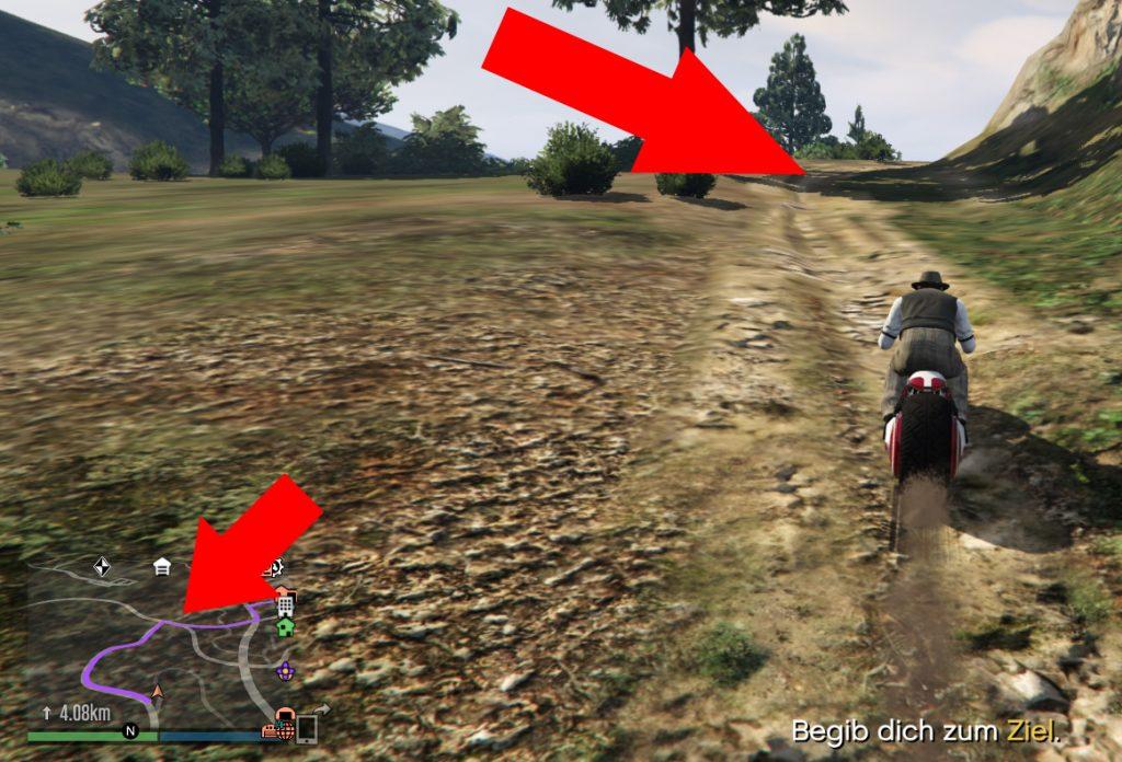 GTA Online Galileo Park Abkürzung