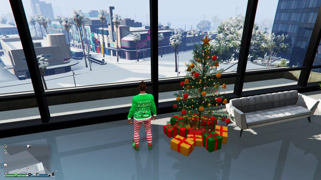 GTA Online Geschenke Garage Baum